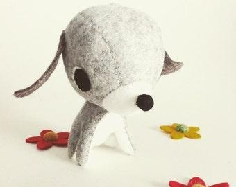 Kawaii felt puppy