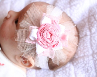Pretty-in-Pink Hair Bow