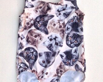 Girl's Kitty Cat Leotard