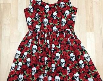 Skulls & Roses Dress