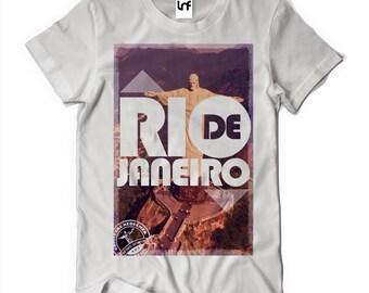 Rio De Janeiro Brazil Mens T-Shirt (SB019)