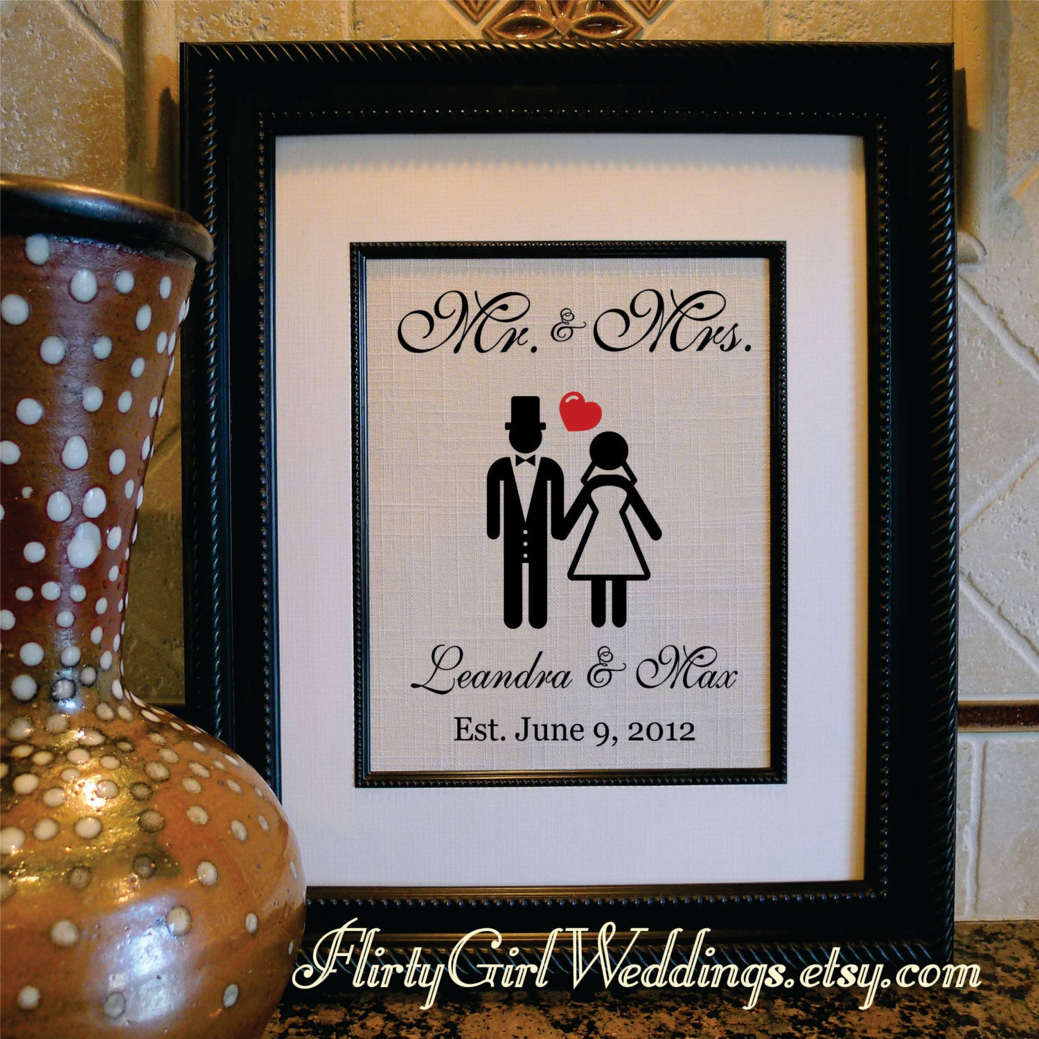 Wedding Gifts For Husband : Wedding Gift Bridal shower gift Gift for Husband Gift for