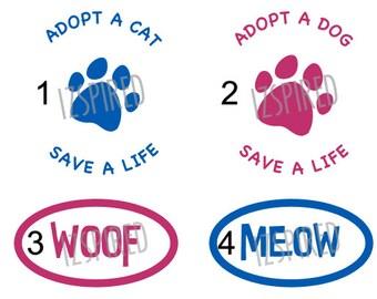 Ruth Steinert Memorial SPCA decal fundraiser