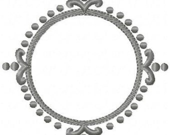 special order 0 12 inch  Circle Dot Frame