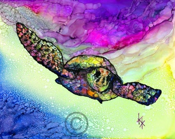 Bright Seaturtle