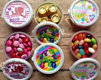 Easter Bunny Poop, Cupid Poop, Leprechaun Poop, Co Worker Gifts, Easter Candy, Valentine Candy, St Patricks Candy, Poop Candy, Gag Gifts
