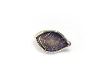 Leaf Pendant,Enamel Pendant, Sterling Silver Pendant, Autumn Pendant, Autumn Leaves, Fall Leaves,Enamel Jewelry, Silver Jewelry, Giampouras