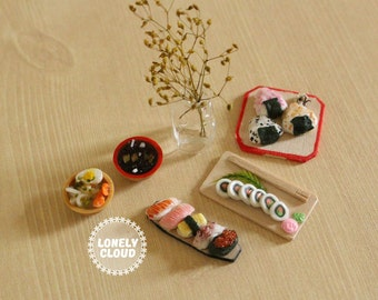 Miniature Japanese Food Collection (Magnets!)