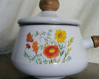 80s fondue party replacement pot