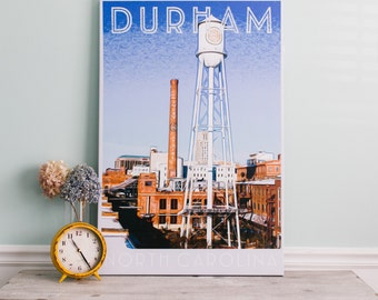 Durham, NC (Digital Art) : Canvas