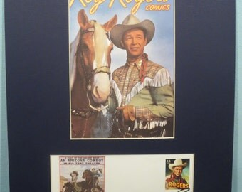 Western Movie and TV Stars - Roy Rogers, Dale Evans and Trigger & First Day Cover of the Roy Rogers Stamp