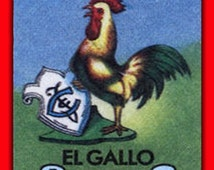 54 - (4x6) Mexican Loteria Card Images... Deco Elements - Reg. 9.99 On Sale Now!