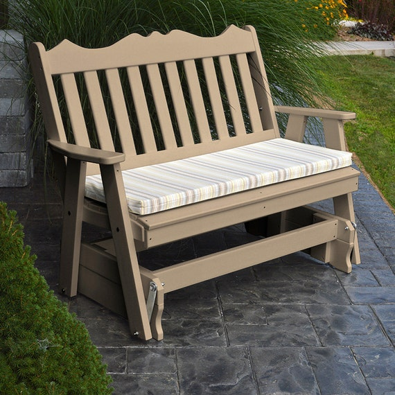 Recycled Plastic Royal English 4ft Porch Glider