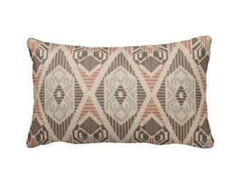 Brown Pillow Cover Brown Throw Pillow Cover Beige Pillow Tribal Pillows Tribal Decor Lumbar Pillows 12x18 Pillows 12x20 Pillows 12x22 Pillow