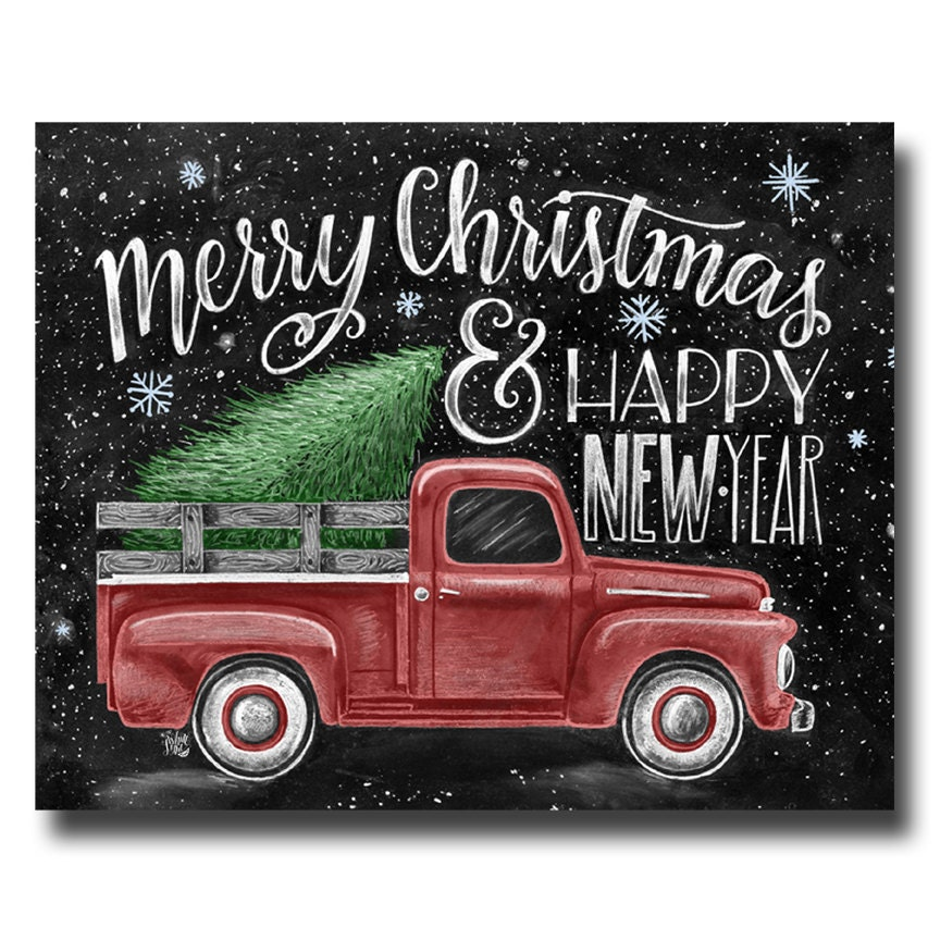 Merry Christmas Sign Merry Christmas & Happy New year