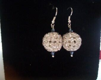 crista swarovski earring