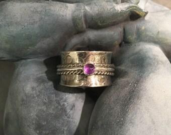 Amethyst Meditation Ring