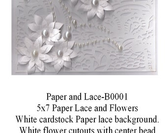 Paper and lace B-0001