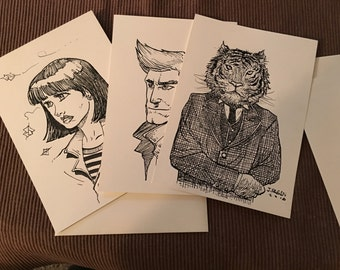 Mystery Sketches For Sale!