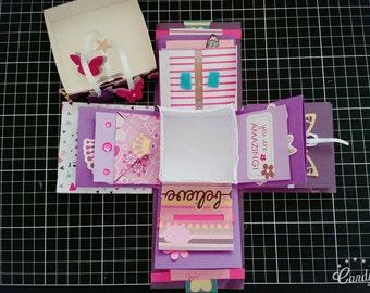 Purple Explosion Box Valentine's