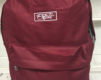Burgudy Prfcto Lifestyle Backpack, Canvas Backpack, School Backpack, Cute Bags and Purses, Laptop Backpack, Burgundy Bag