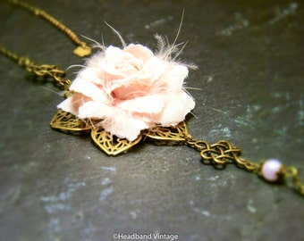 """Vintage Headband / head jewel  """"Céline"""""""