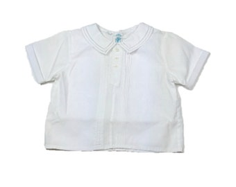 Vintage White Baby Shirt / Feltman Bros.