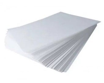 Waxed paper sheets