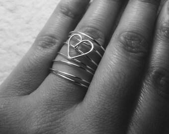 Swirls and a heart