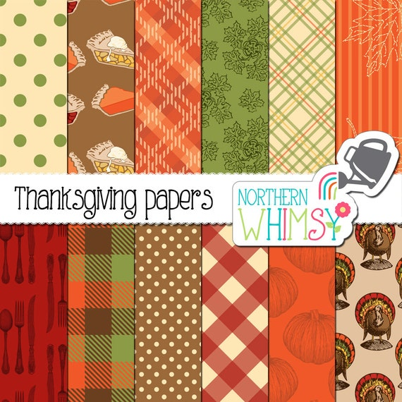 Thanksgiving Digital Scrapbook Paper Page Two Thanksgiving Wikii