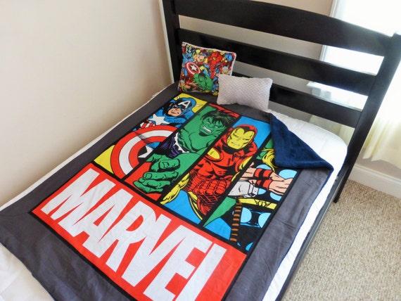 Avengers Superhero Blanket Avengers Quilt Superhero By