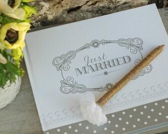 stylo pour livre d'or mariage - wedding guest book pen