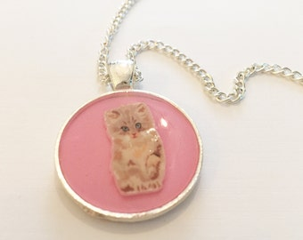 kitty cat necklace
