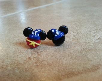 Mickey Mouse Sorcerer Inspired Earrings