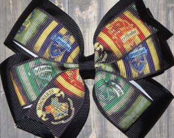 Harry Potter Hair Bow / Harry Potter Bows / Harry Potter Gifts / Harry Potter Gifts / Hogwarts Bows / Hogwarts Hair Bow / Harry Potter