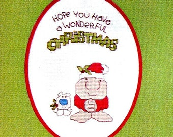Ziggy Christmas!  - Counted Cross Stitch Pattern - Instant Download
