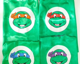 Ninja Turtle Capes for Children