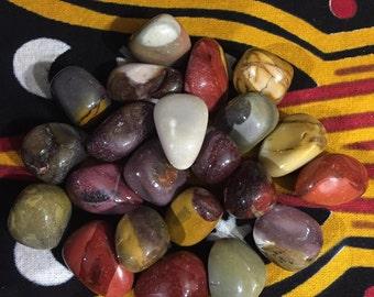 Mookaite Jasper HQ Tumbled Large / Awareness / Intuition / Healing
