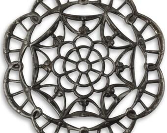 Vintaj Arte Metal 40mm Grand Kaleidoscope Filigree