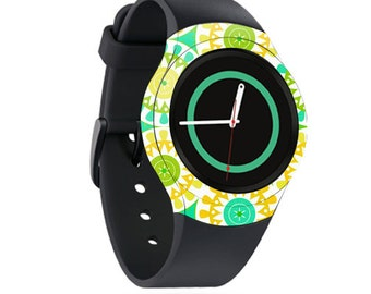 Skin Decal Wrap for Samsung Gear S2, S2 3G, Live, Neo S Smart Watch, Galaxy Gear Fit cover sticker Slices