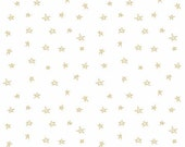 Riley Blake Designs-When Skies are Grey-Gold Star Fabric-Quilting Fabric-Yardage-Fabric by the Yard-Sewing Fabric-Fat Quarter Bundle-Stars