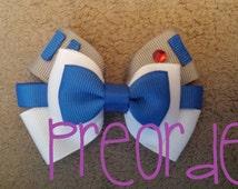 PRE ORDER Hand made star wars R2D2 hair bow