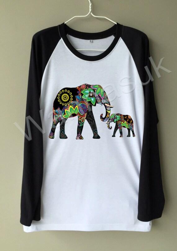 Elephant women shirt awesome fashion t shirt funny unisex for Elephant t shirt women s