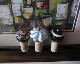 Wine Door Knobs