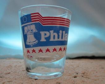 Vintage Shot Glass from Philadelphia
