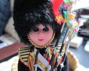 Scottish Doll with bag pipes