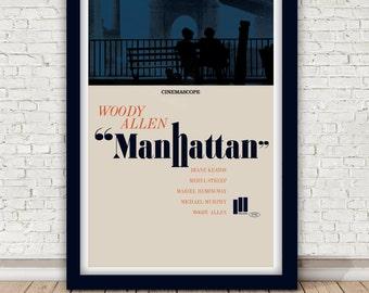 """Woody Allen """"Manhattan"""" print - 1979"""