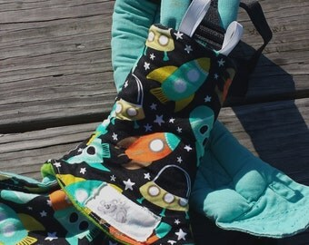 teething pads - suck/drool pads -baby carrier suck pads - corner style drool pads -baby shower gift - baby carrier accessories - CUSTOM MADE