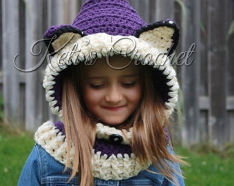 Hooded Scarf,Adult Hooded Cowl,Wolf Hooded Cowl,Wolf Hooded Scarf,Adult Hooded Scarf,Hooded Cowl,Crochet Hooded Cowl,Crochet Hooded Scarf