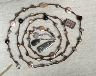 Necklace with Amulets -- 1